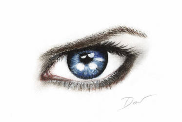 Blue Eye by Acalewia