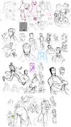 Pit People : Sketchdump 2 by MemQ4