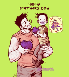 Pit People : Happy Fathers Day by MemQ4
