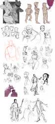Pit People : Sketchdump 3 by MemQ4