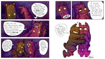 Pit People (Spoilers) : Honeykiss and Honeyhug by MemQ4