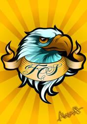 Eagle logo by almazoff196