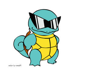 squirtle squad vector by nomad19