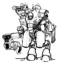 Strogg Heavygunner Refresh by Rafta