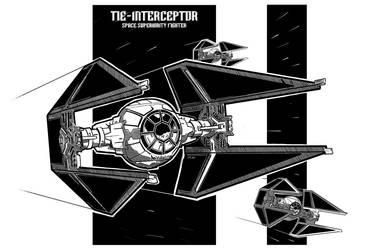Tie Interceptor Sheet by Rafta