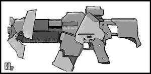 Doom3 Assault Rifle by Rafta