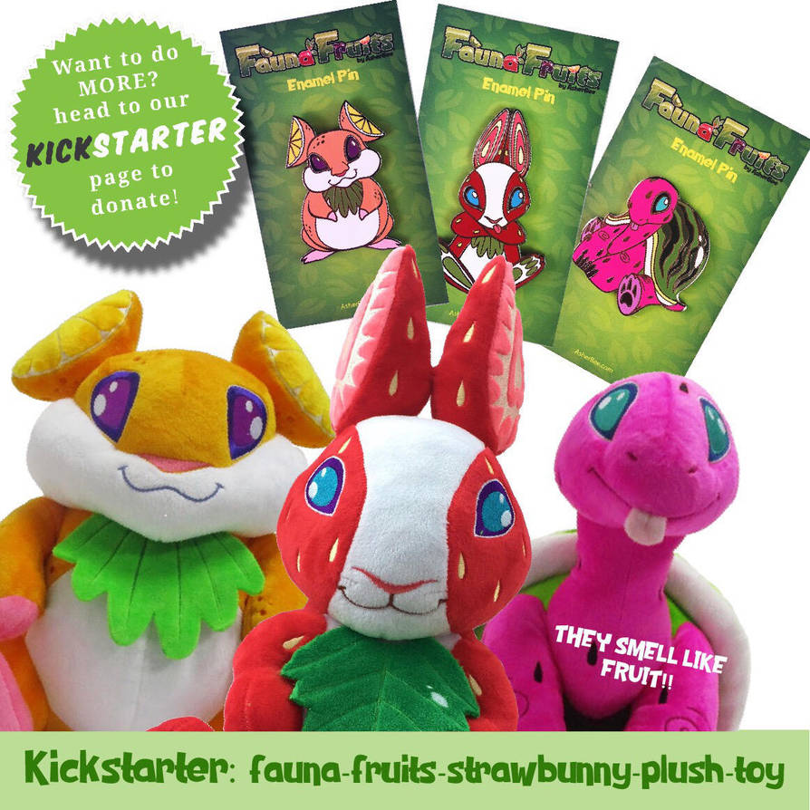 Kickstarter Fauna Fruits by Asher-Bee