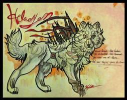 Helaeyen Ref Sheet by CirylXD
