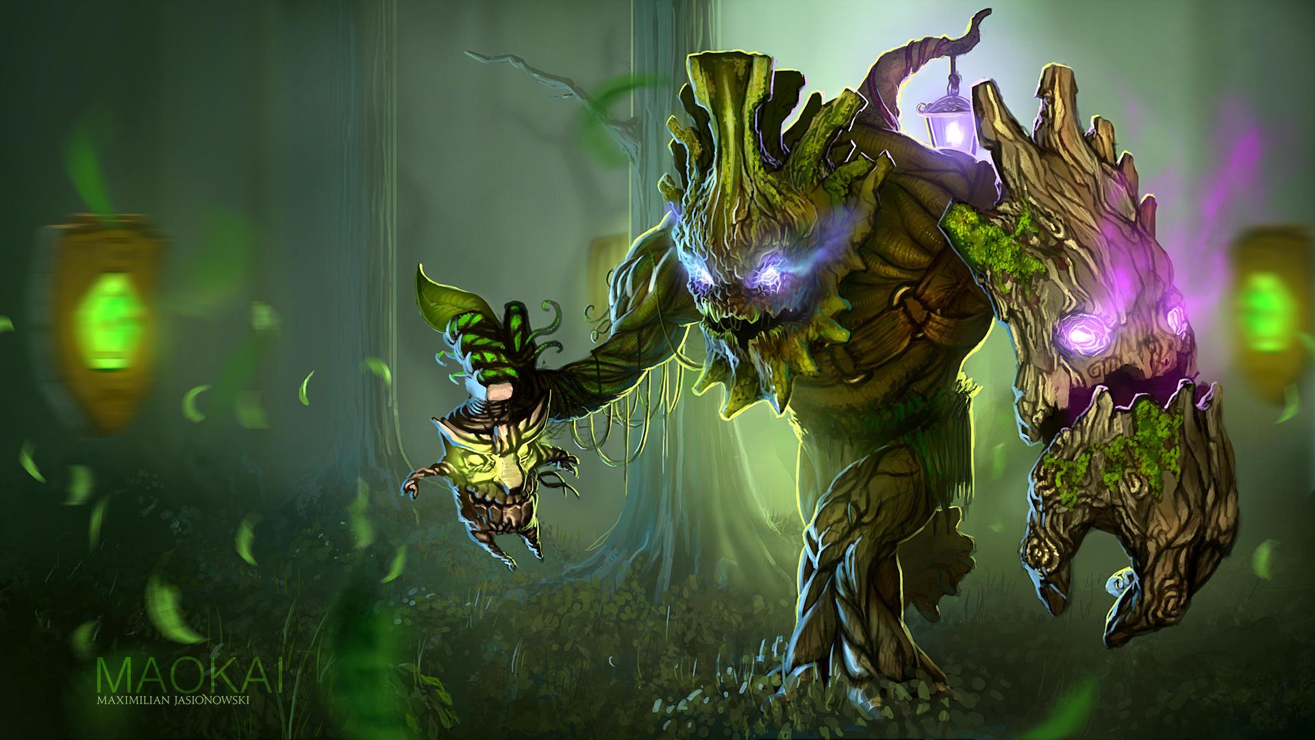 League of Legends - Maokai by Shabow