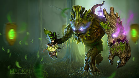 League of Legends - Maokai by Shabow