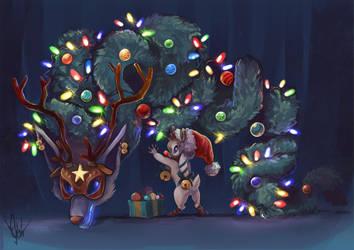 Kindred Christmas idea  by 99g3ny99