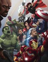 Avengers by RadecMai
