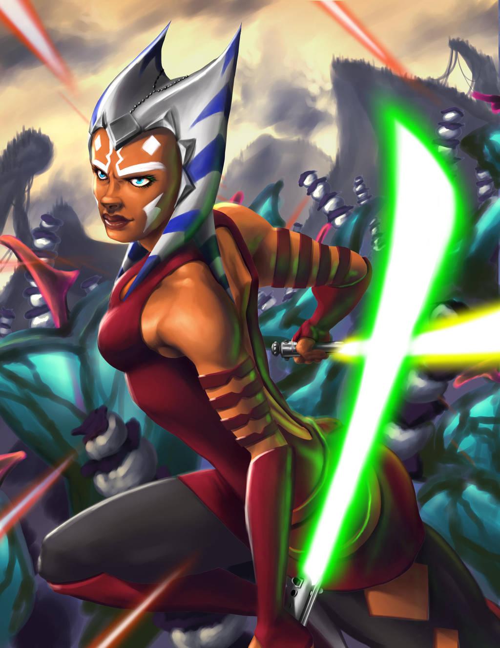Ahsoka Tano - Star Wars by RadecMai on DeviantArt