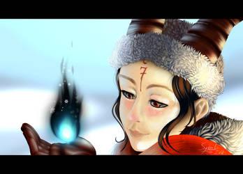Winter portrait by IceHeishiou