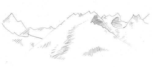 Mountains by Novellicus