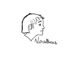 A digital sketch portrait by Novellicus