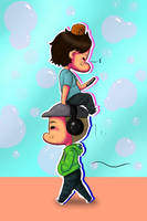 youtuber tower? by chibi-raiden