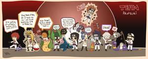 Team Akatsuki by GuardianSpirit