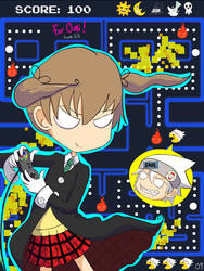 Maka x Soul for Omi by GuardianSpirit