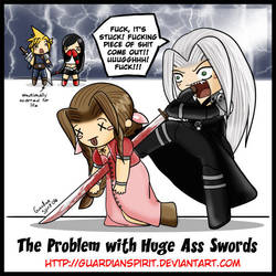 The Problem with Huge Swords by GuardianSpirit