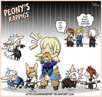 Peony's Rappigs by GuardianSpirit