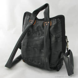 Bicycle tube bag - back by elfnor
