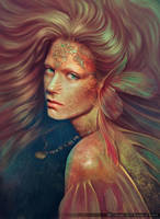 Mermaid by HUSSAMulWAHID