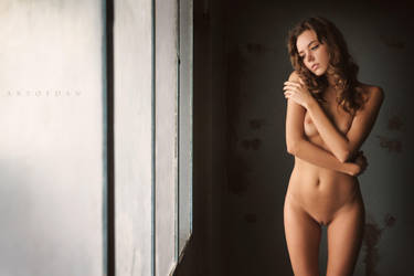 Behind The Window Of Sensuality by ArtofdanPhotography
