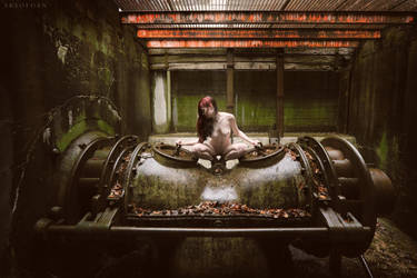 Ghost In The Machine by ArtofdanPhotography