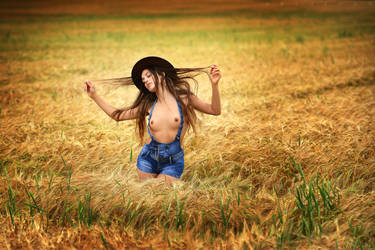 Magical Field Dance by ArtofdanPhotography