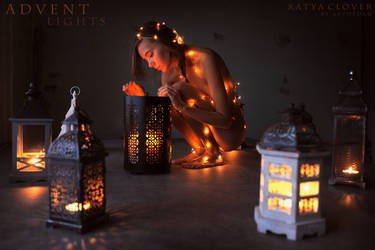 Advent Lights by ArtofdanPhotography