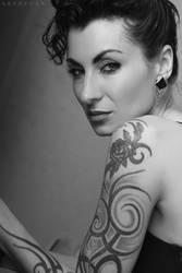 Tattoo Lady by ArtofdanPhotography