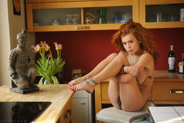 Kitchen Flowers by ArtofdanPhotography