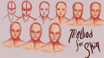 My Skin Making Process by keys007