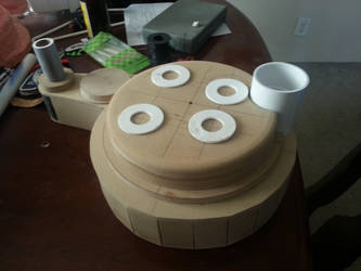 Ghostbusters Proton Pack Build Cyclotron WIP 2 by ritter99