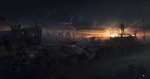 sunset by rulez-dmitriy