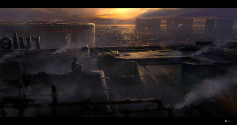cityscape #2 by rulez-dmitriy