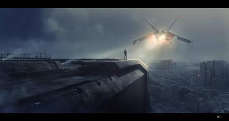 cityscape #3 by rulez-dmitriy