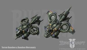 Starcraft 2: Terran Banshee by PhillGonzo