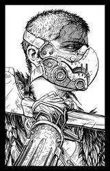 Wasteland Harpy by PhillGonzo