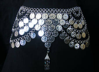 Coin Cacophony Belt by enchantress13