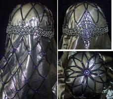 Black Lily headdress by enchantress13