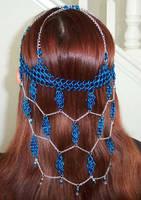 Blue dreams headdress by enchantress13