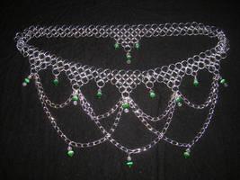 Emerald Dreams circlet by enchantress13