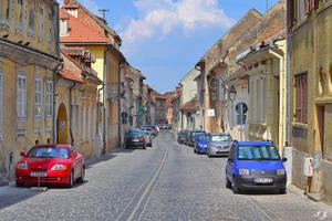 street of Brasov by Iulian-dA-gallery