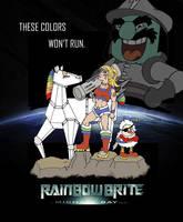 Rainbow Brite ala Michael Bay by Celtzombie