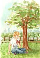 In a park by Mogoliz