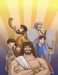 Bibleheroes-cover Online by WilsonWJr