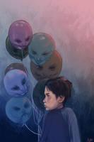 balloons by Abenius