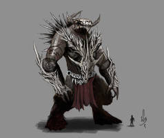 Death Colossus - Rift by williambang
